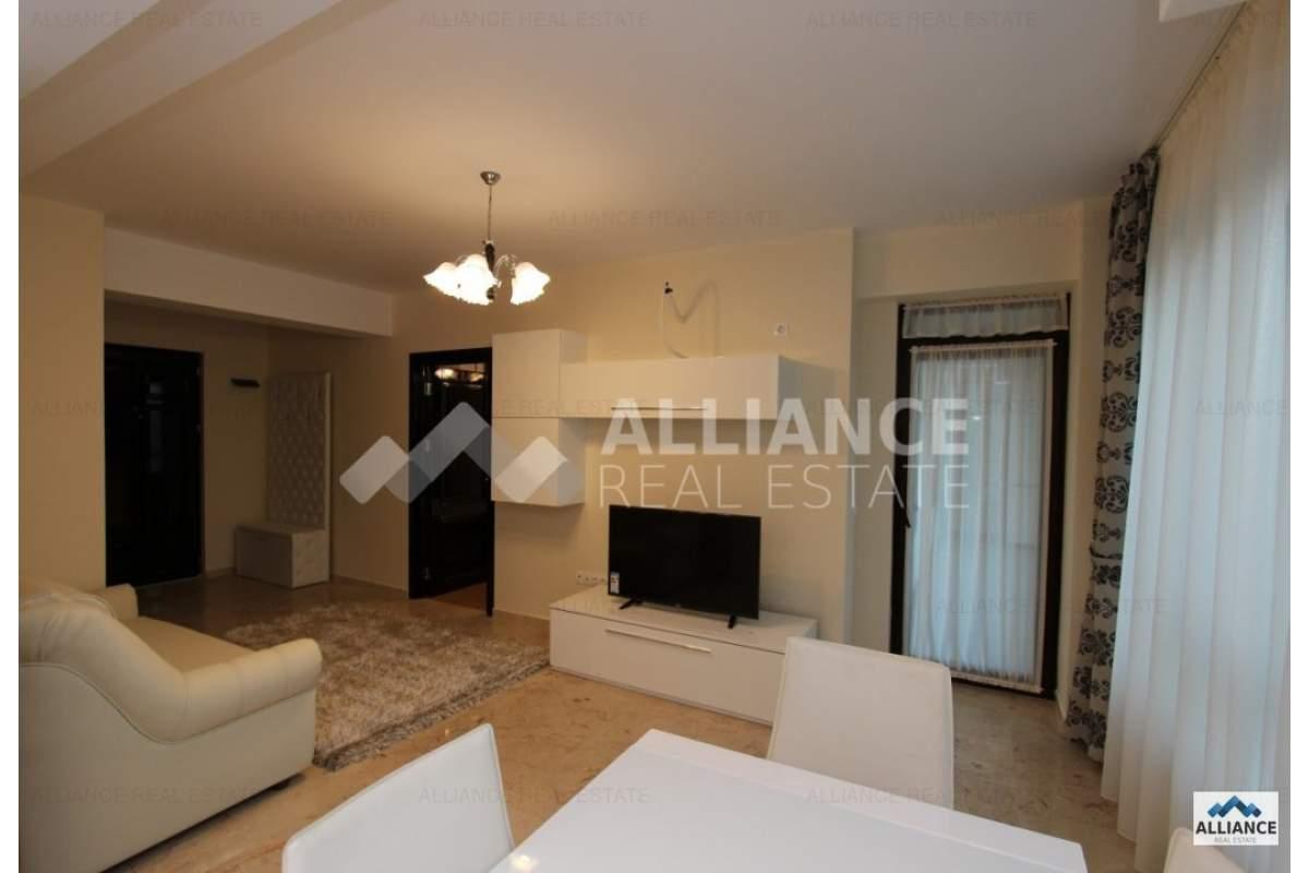 Ansamblu rezidential nou, apartament cu 2 camere, mobilat si utilat de lux