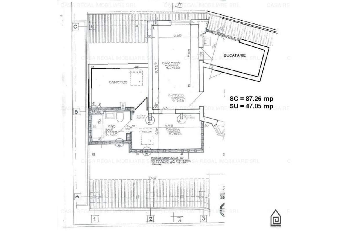Ap.3 camere Decebal-Ap.Andrei
