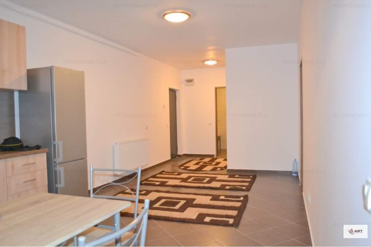 Apartament 1 dormitor + living open-space, bloc nou, parcare, zona Calea Turzii