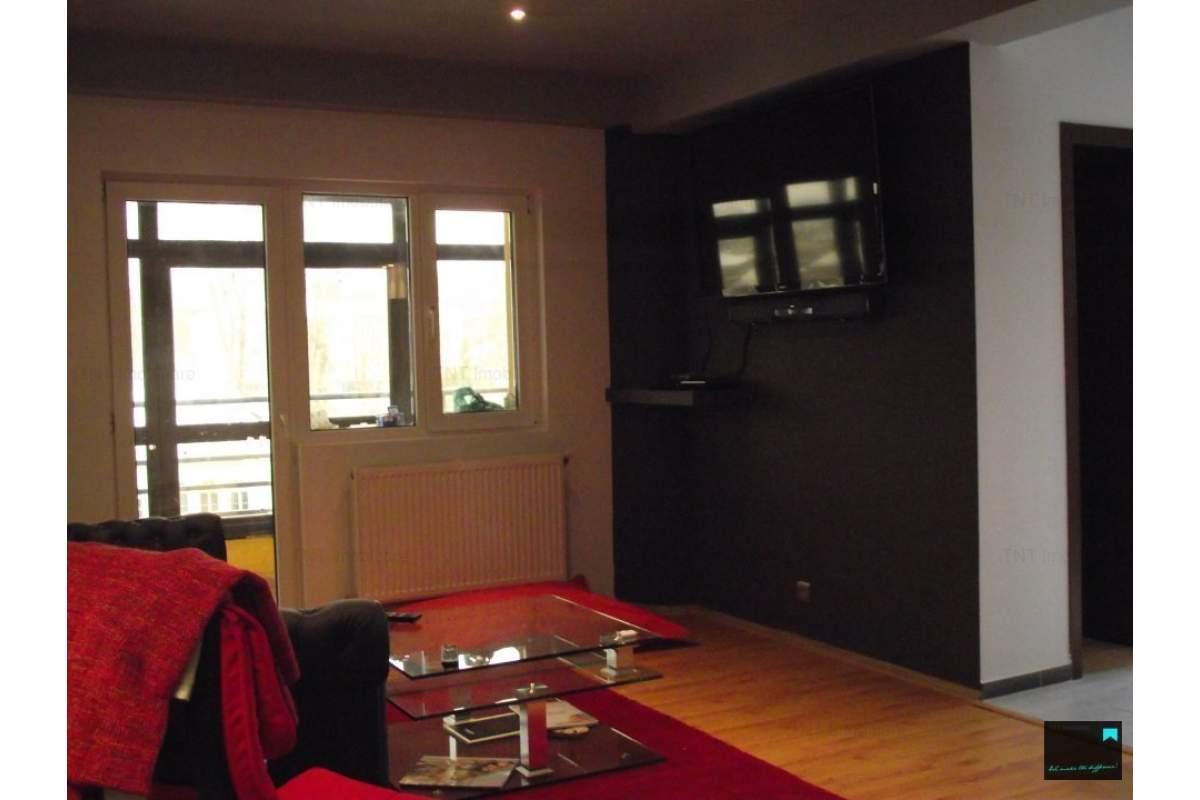 Apartament 2 camere de inchiriat Iasi bloc nou zona Central Pd Fier