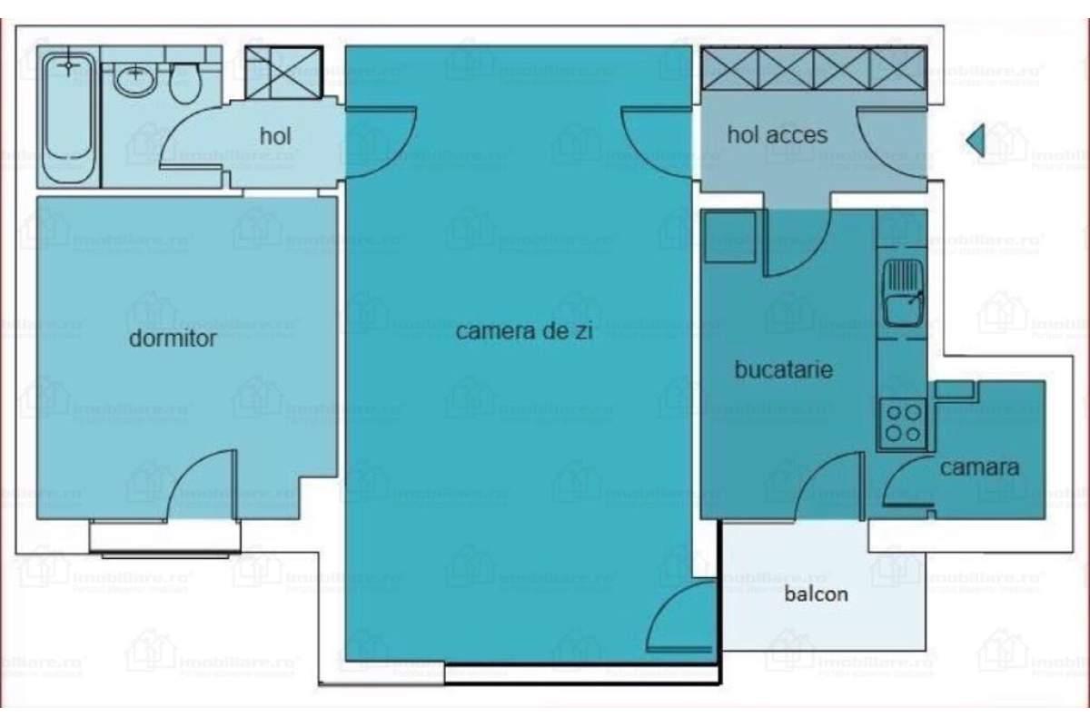 apartament 2 camere lux + loc de parcare complex rezidential Quadra Place