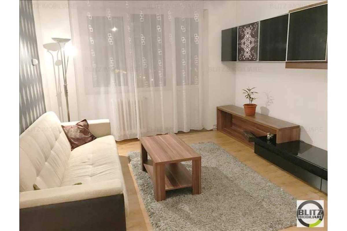 Apartament cu 2 camere, 45 mp, parcare, prima inchiriere, zona Complex Diana
