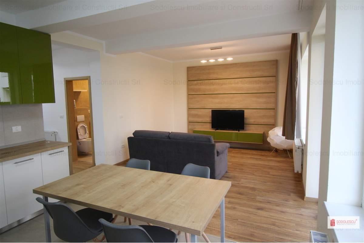 Apartament cu 3 camere de inchiriat cu gradina de 120 mp