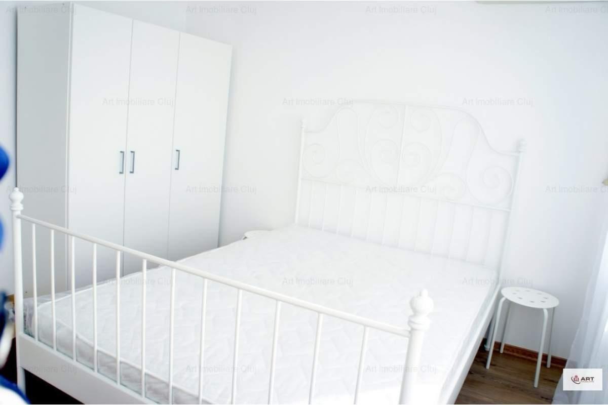 Apartament un dormitor + living, mobilat modern, TOTUL NOU, in Gheorgheni