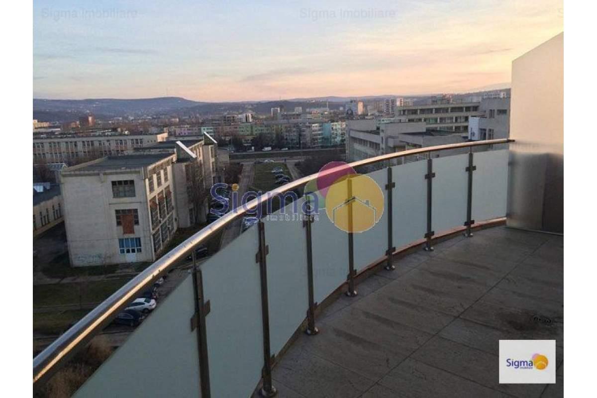Centru-Palas apartament 1 camera 38 mp cu CT bloc nou