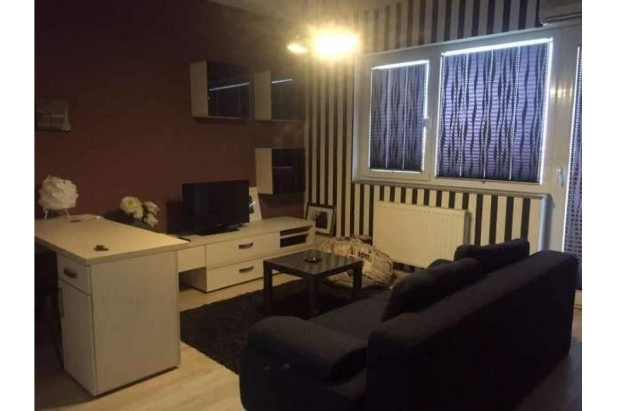 Garsoniera dubla de lux, 50 mp, dormitor separat, gaze, parcare - cartier nou