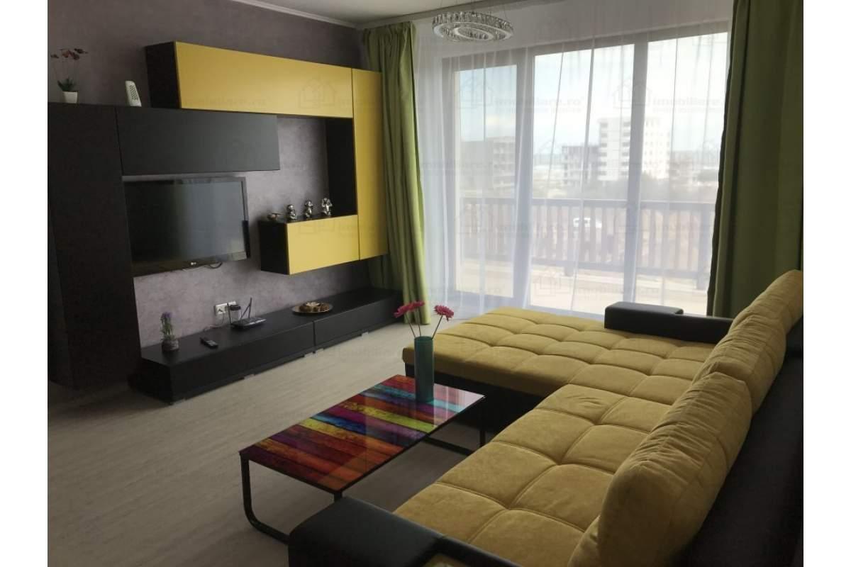 Inchiriez ap 2 camere Mamaia Nord mobilat, utilat, centrala cu gaze, terasa,....