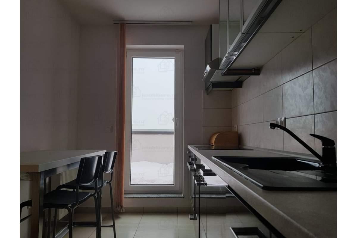 Inchiriez apartament 2 camere ( penthouse), priveliste deosebita