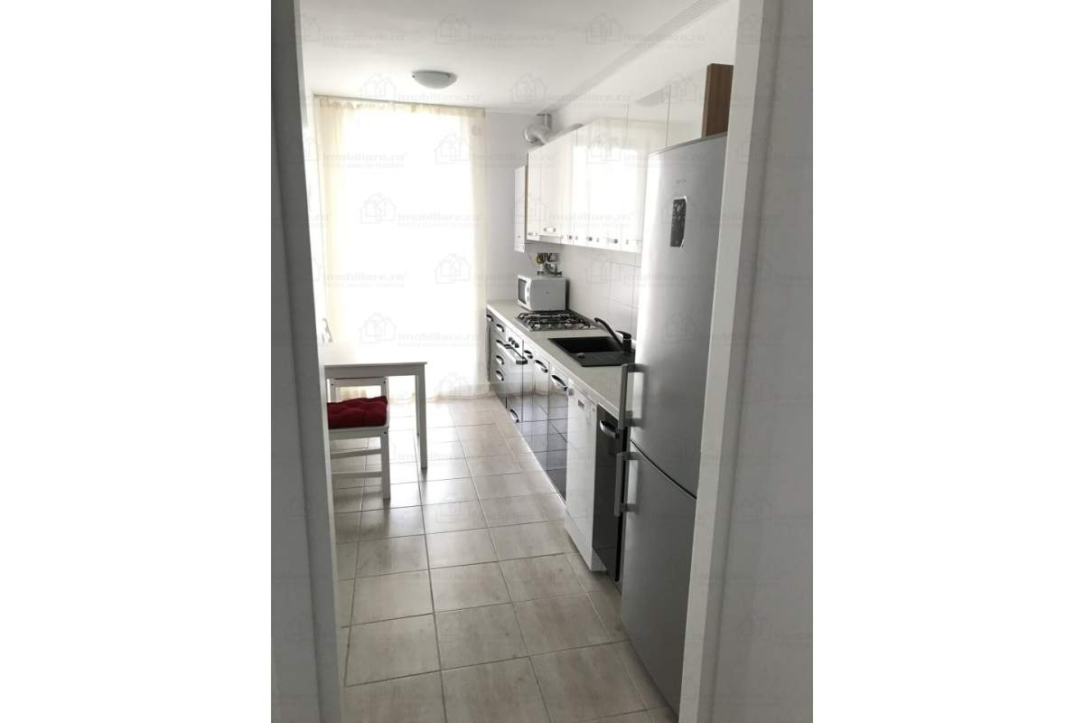 Inchiriez apartament decomandat, 2 camere, mobilat, CityPoint Aviatiei,bloc 2017