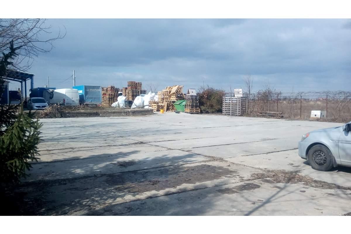 Parcare betonata 672m2 dau cu chirie