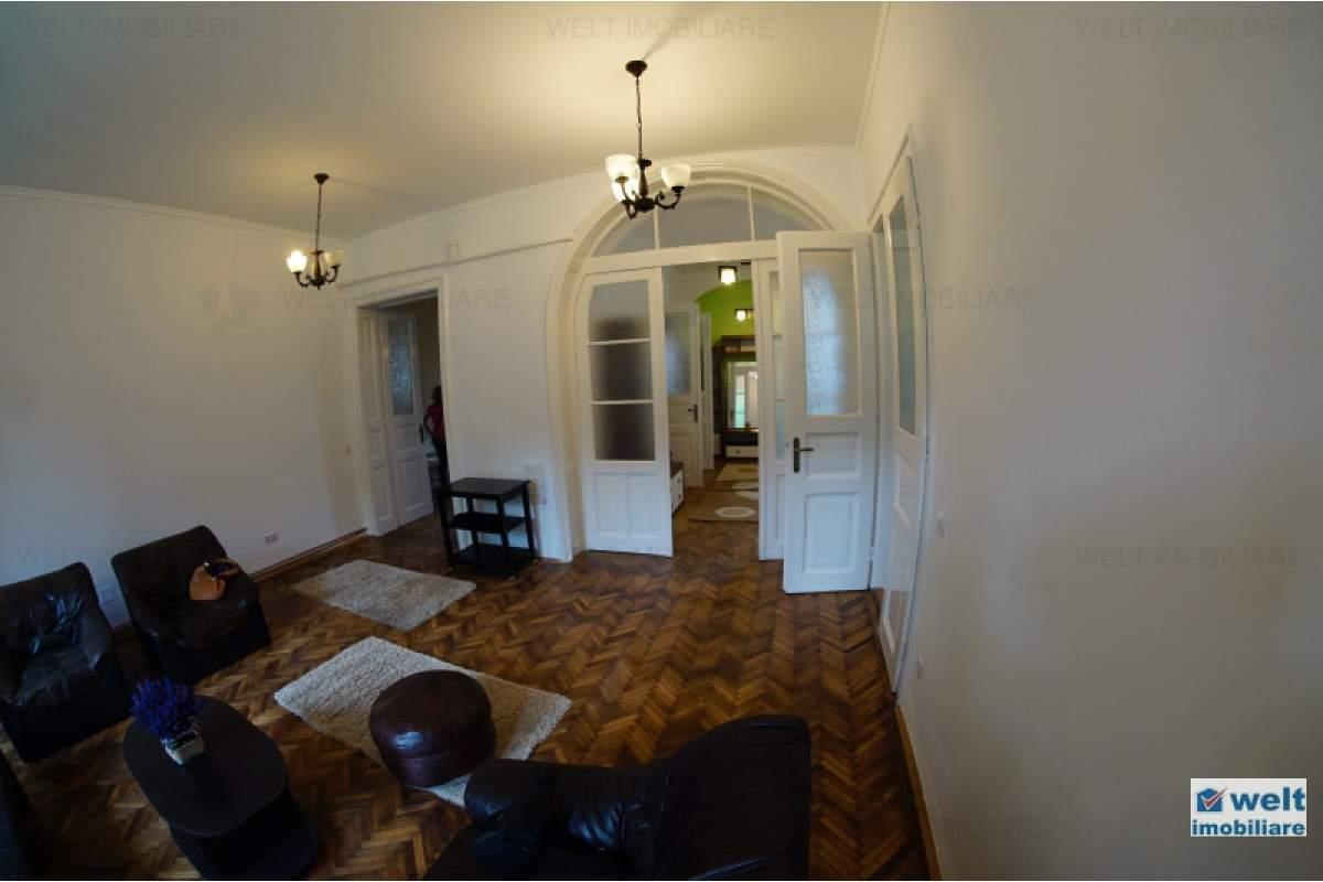 Prima inchiriere, apartament la casa, 3 camere, curte amenajata, zona Centrala!