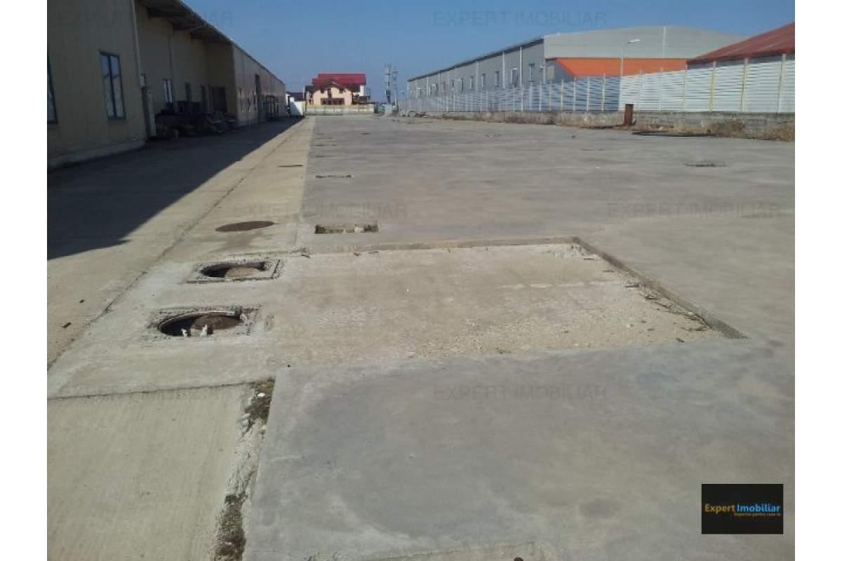 Spatii platforma betonata de inchiriat 3000 mp