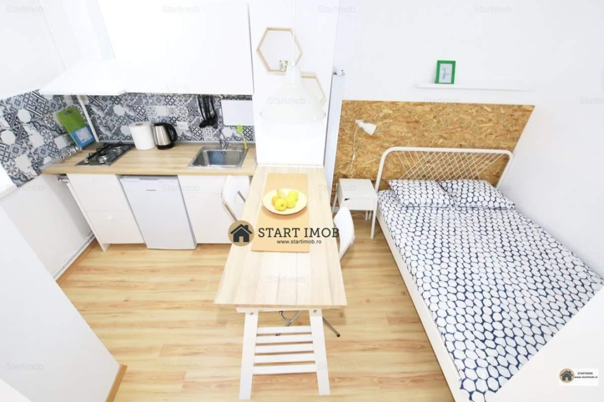 Startimob - Inchiriez garsoniera mobilata in regim hotelier zona Judetean