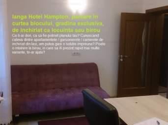 Apartament 2 camere, centru - langa Hotel Hampton, inchiriere, cod456