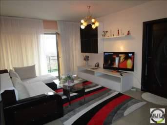 Apartament 3 camere, 88 mp, terasa de 15 mp, prima inchiriere, zona Clujana