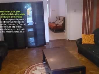 Casa, 3 camere, Copou (zona Sararie, Super Copou), inchiriere, cod232a