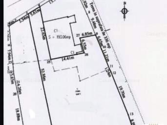 COD1172A Inchiriere teren, 1200mp, Centru