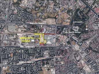 Inchiriez teren in Bd. Timisoara-AFI Cotroceni